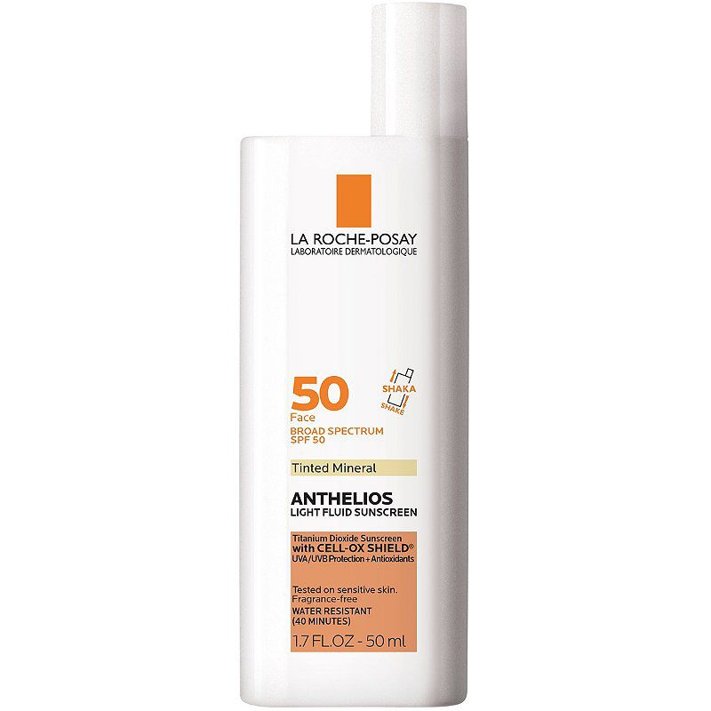 La Roche-Posay Anthelios Mineral Tinted Sunscreen Ultra Light Sunscreen Fluid SPF 50
