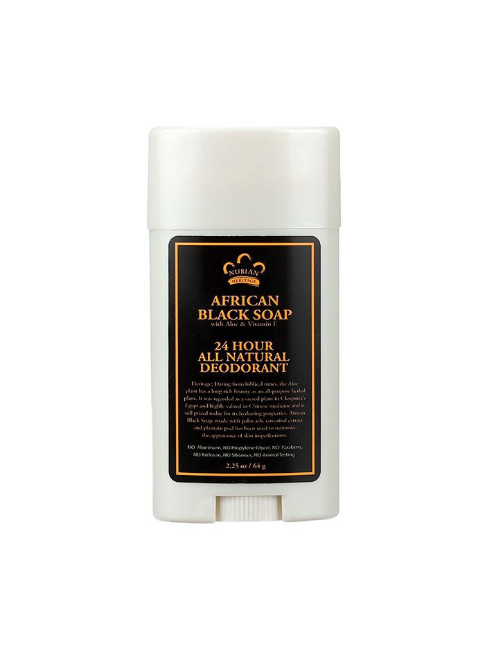 African Black Soap Natural Deodorant