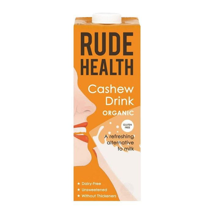 Rude Health Cashew Drink 1L (6 Pack)