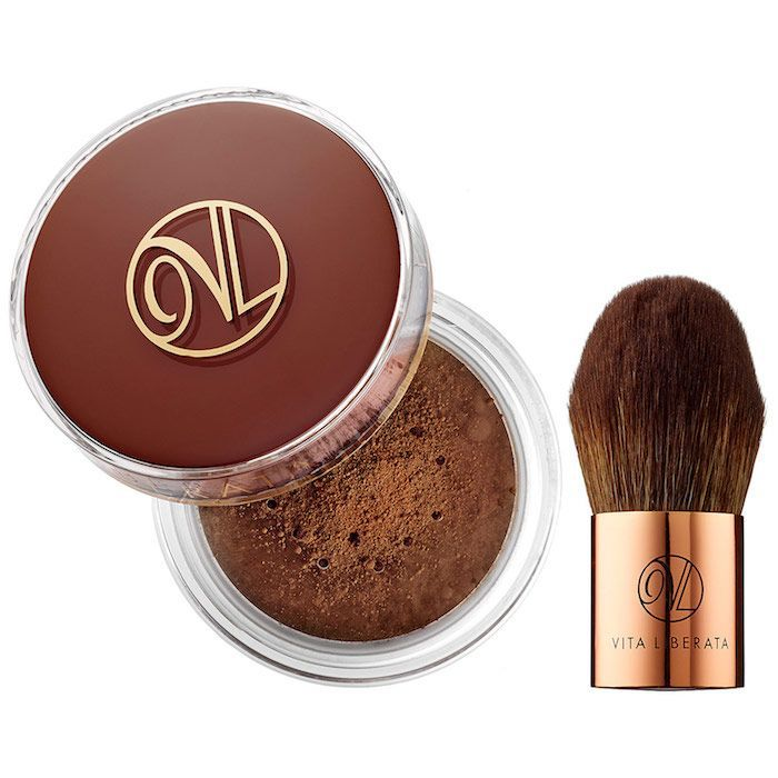 Vita Liberata Trystal Self Tanning Bronzing and Kabuki Brush Duo