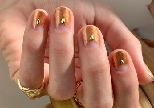 thanksgiving manicure