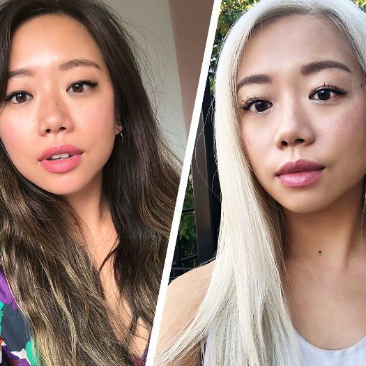 What It S Really Like To Dye Your Hair Platinum Blonde