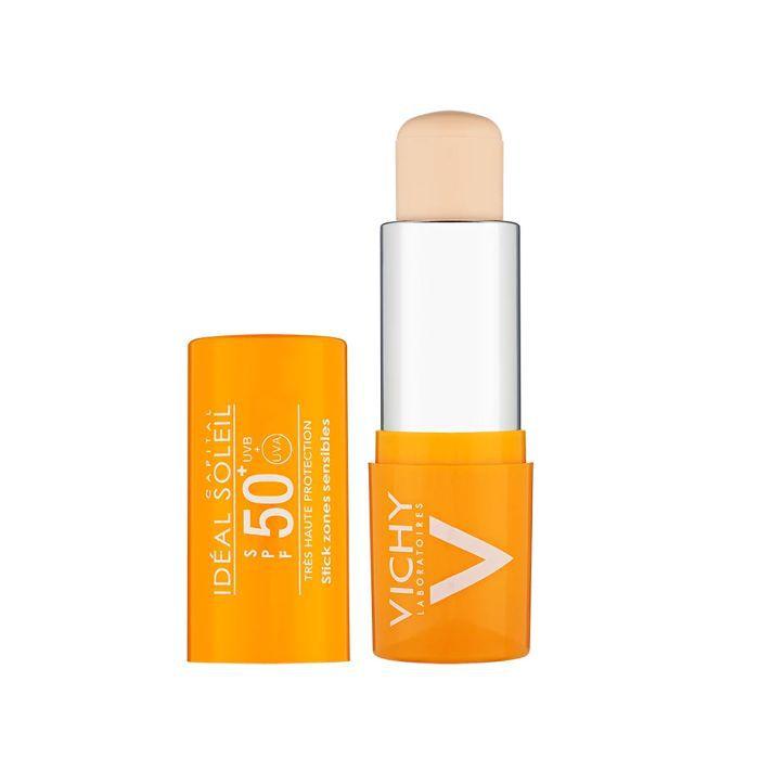 best drugstore sunscreen: Vichy Ideal Soleil UVA Stick SPF 50
