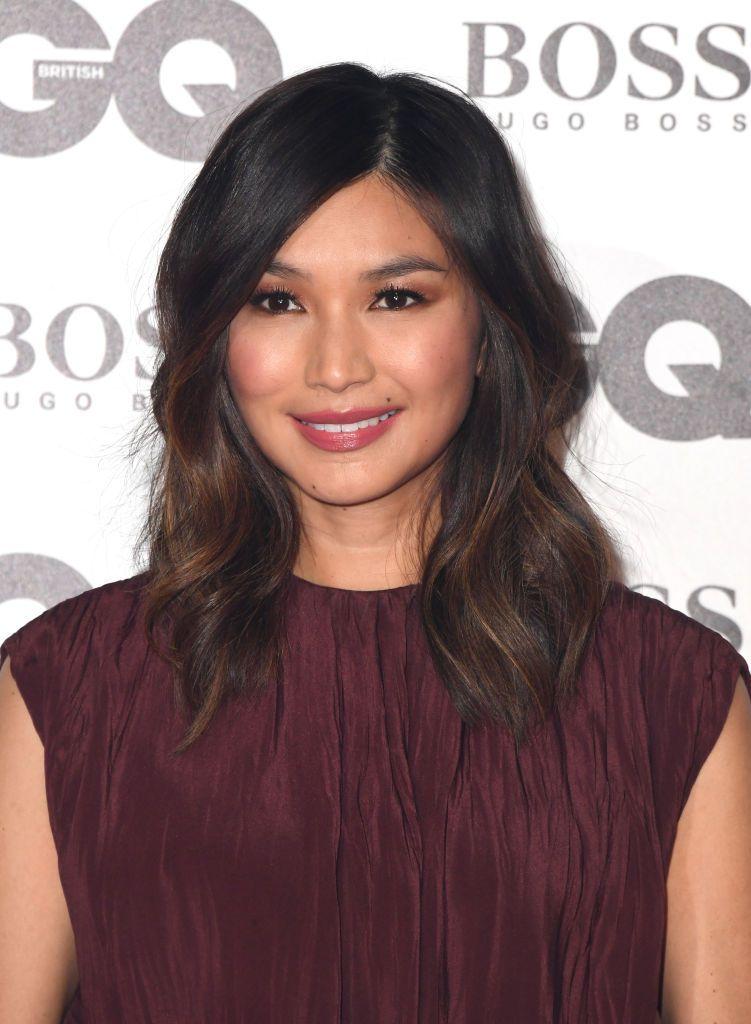 Gemma Chan medium-length hair