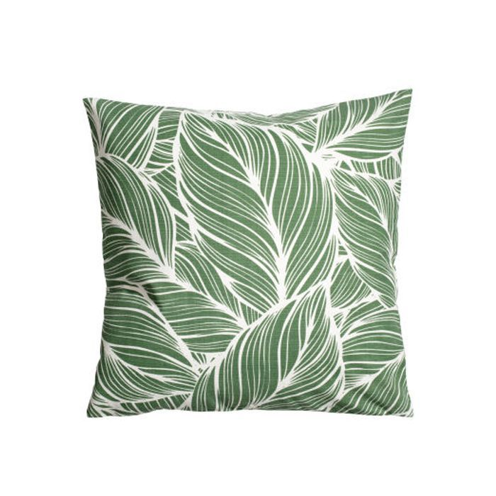eco products:H&M Conscious Collection Slub-weave Cushion Cover