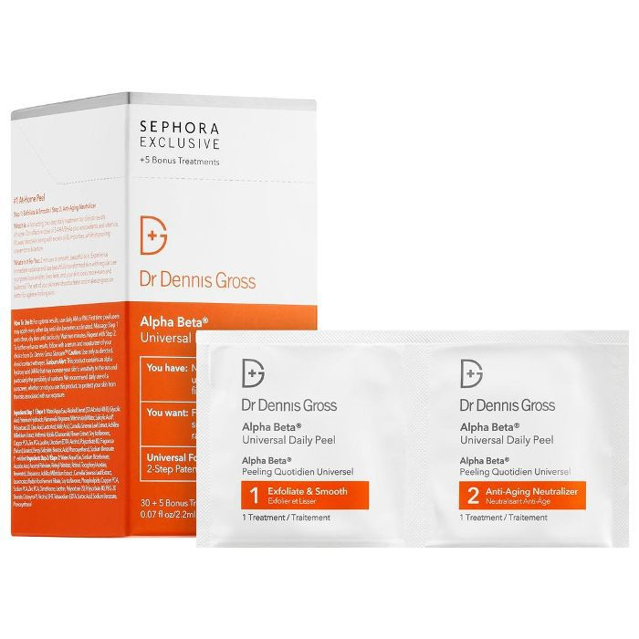 Dr. Dennis Gross Skincare Alpha Beta Universal Daily Peel 60 Treatments