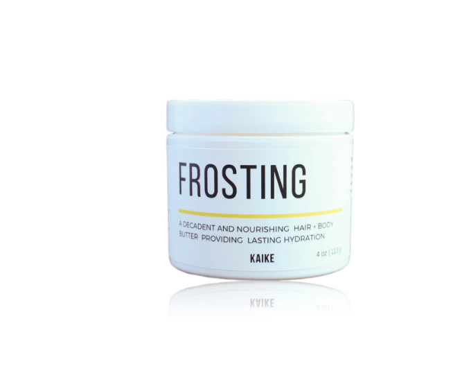 Kaike's Frosting offers lasting hydration to skin, hair and nails