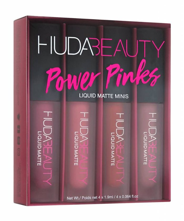 Liquid Matte Minis Power Pinks Edition 4 x 0.064 oz/ 1.9 mL