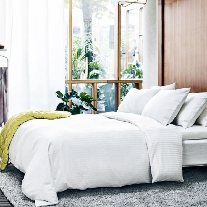 Wellness podcasts: IKEA picture of a bed