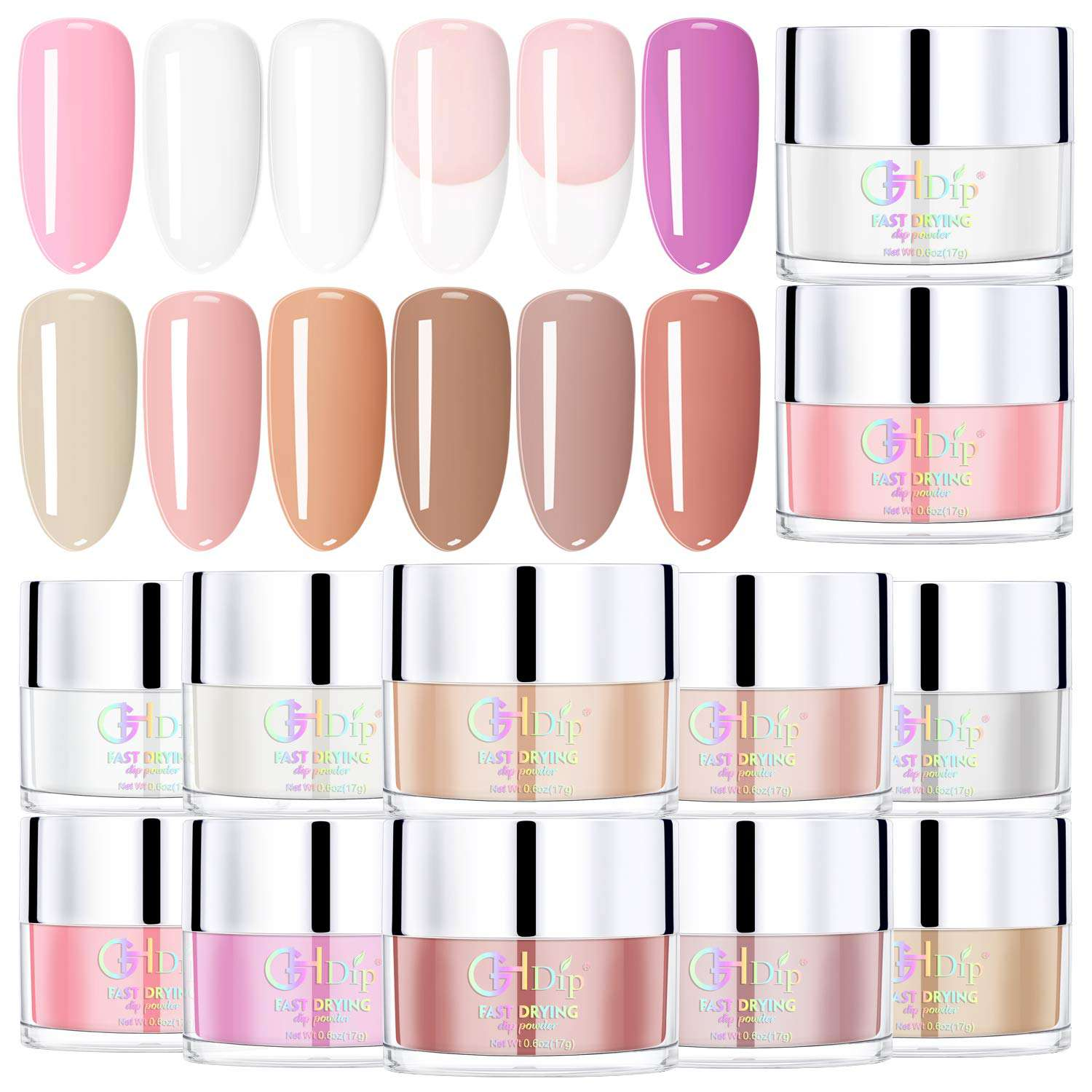 GHDip Dip Powder Kit for French Manicure