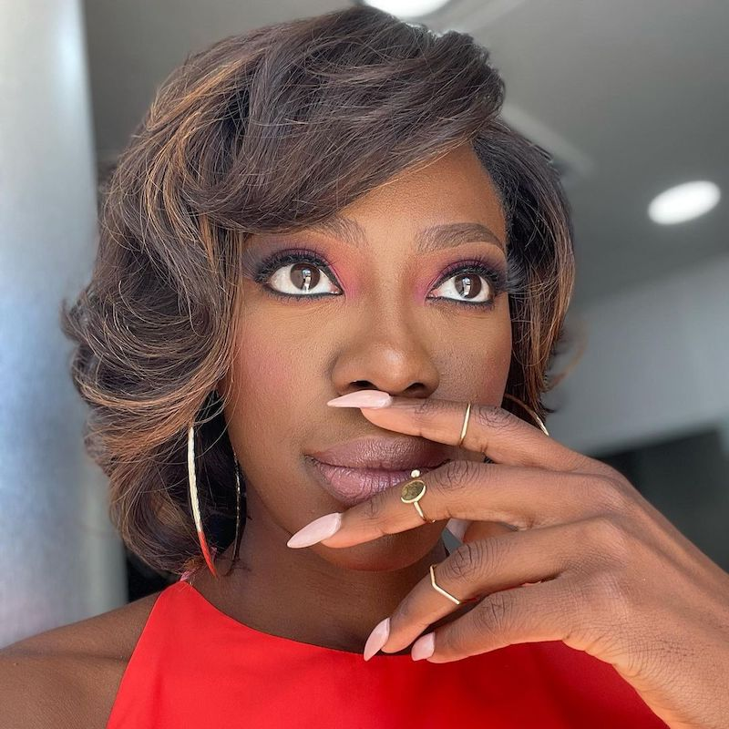 Brown Ombré Hair Yvonne Orji