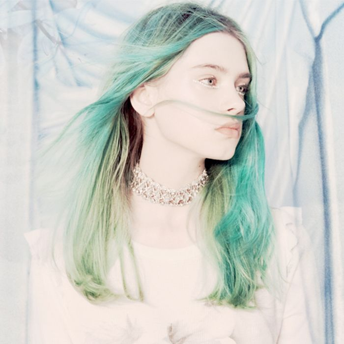Astrology dates: woman with green hair