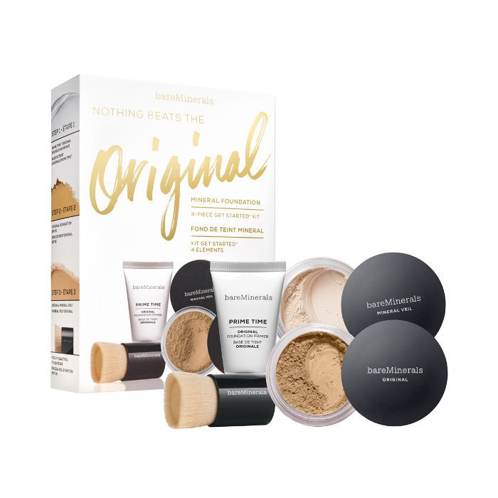 best makeup kit: BareMinerals Original Foundation Get Started Kit