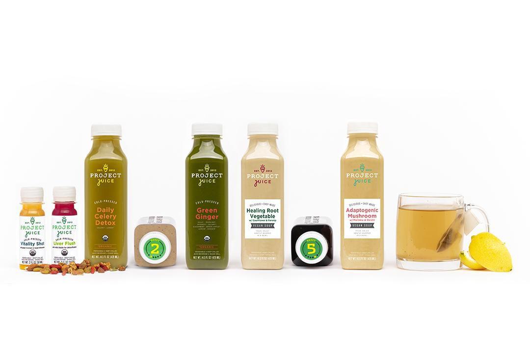 Project Juice Juice Cleanse