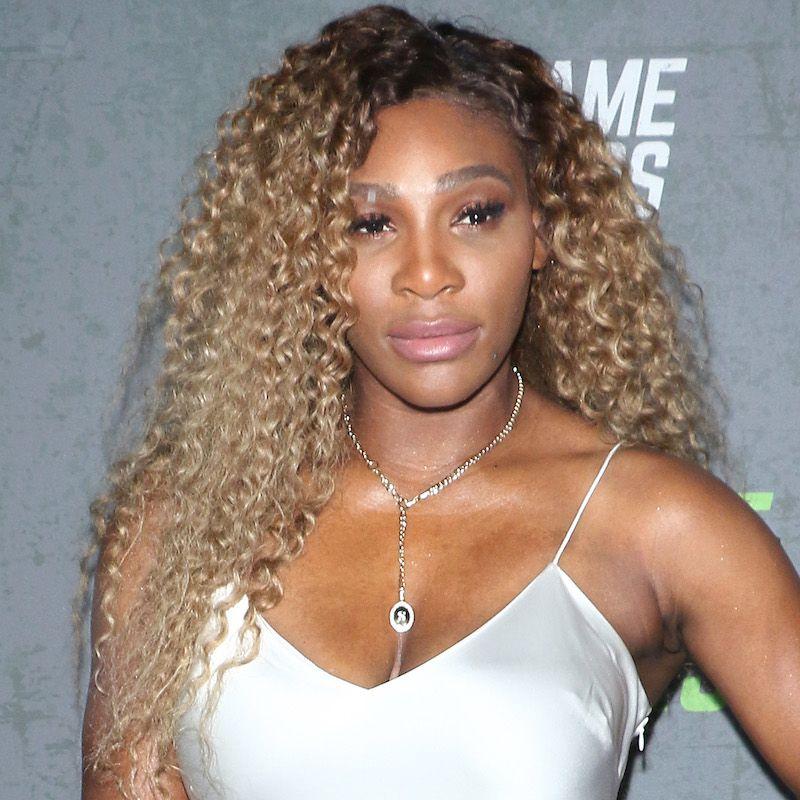 Brown Hair Color Serena Williams