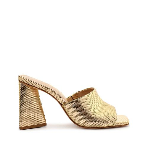 Lizah Metallic Leather Sandal ($98)
