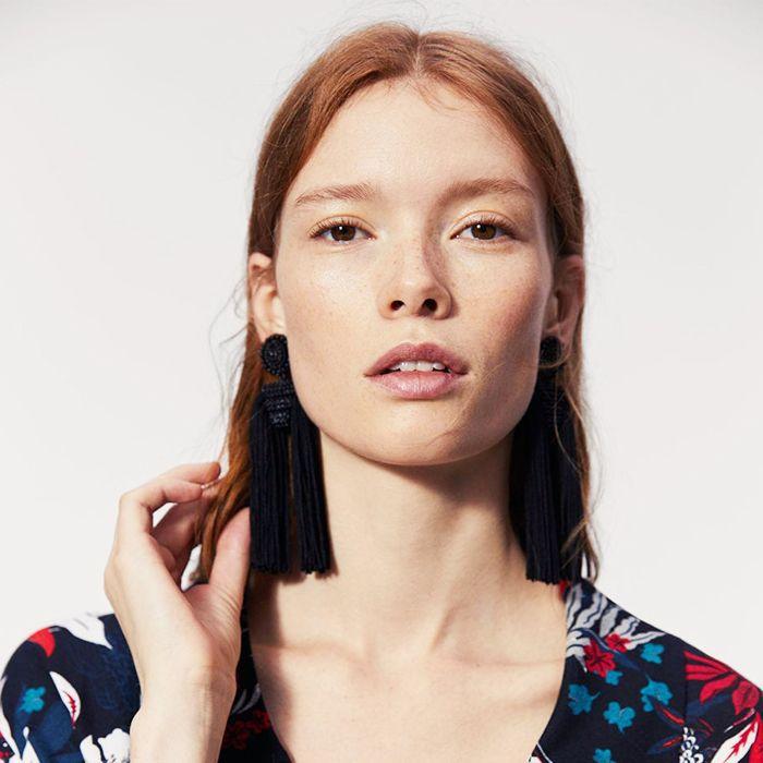 Beauty secrets: woman with glowy skin