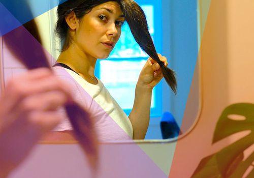 ashley rubell ponytail haircut tutorial