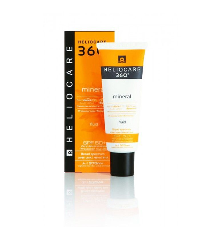 Best sunscreen for face: Heliocare 360 Mineral SPF 50