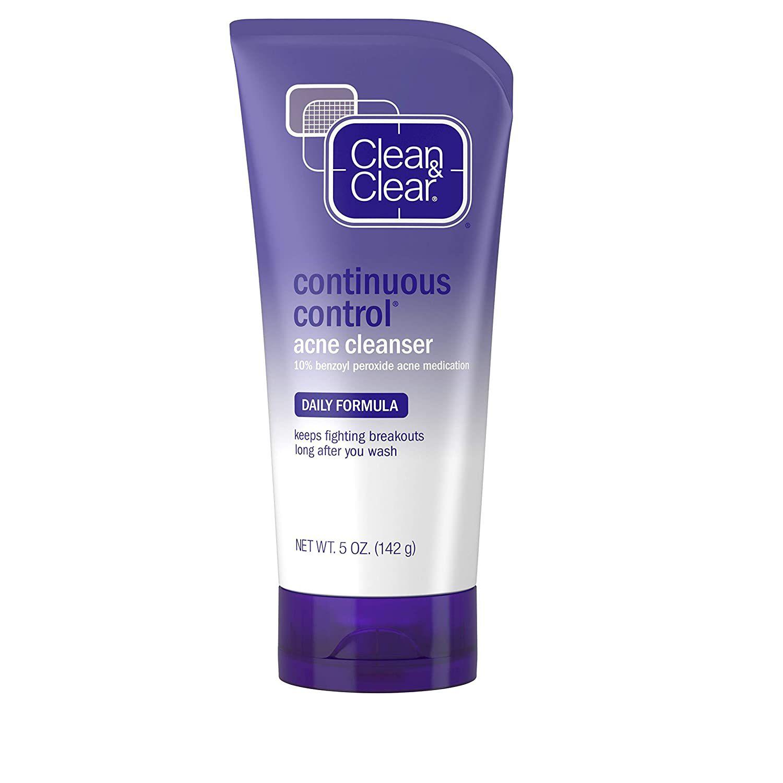 continuous control cleanser
