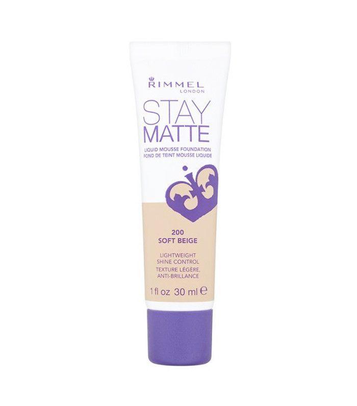 best foundations: Rimmel Stay Matte Foundation