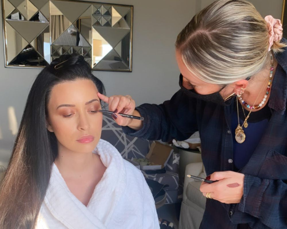Exclusive: Getting Ready with Christian Serratos for the 2020 American Music Awards