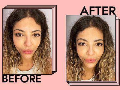 Milk Makeup Kush Fiber Brow Gel Results on Gabrielle Dyer