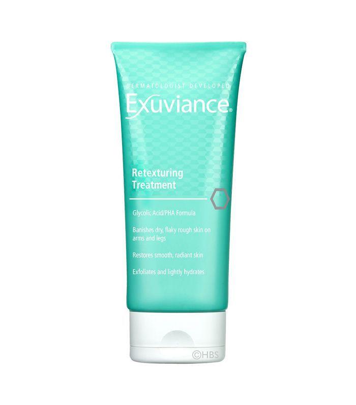 Best Body Peels: Exuviance Retexturing Treatment
