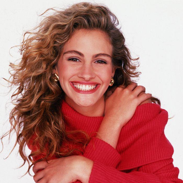 Perm Hair: Julia Roberts in 1990