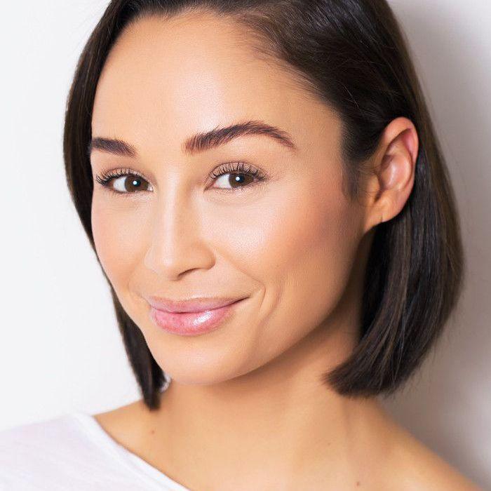 Actress Cara Santana sporting a bold, defined eyebrow