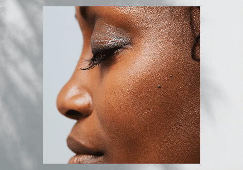 Undone Beauty products on model