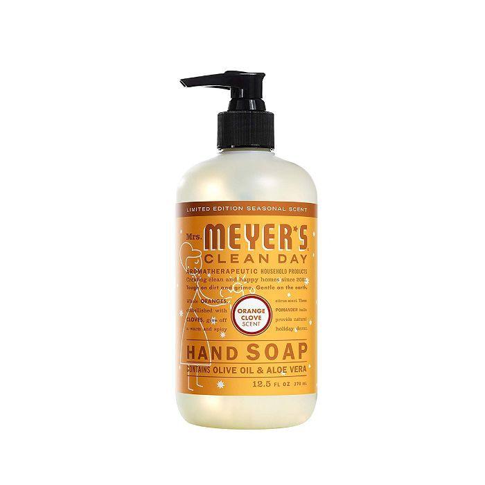 Mrs. Meyers Liquid Hand Soap in Orange Clove