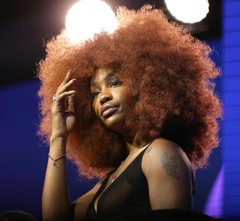 SZA Copper Hair