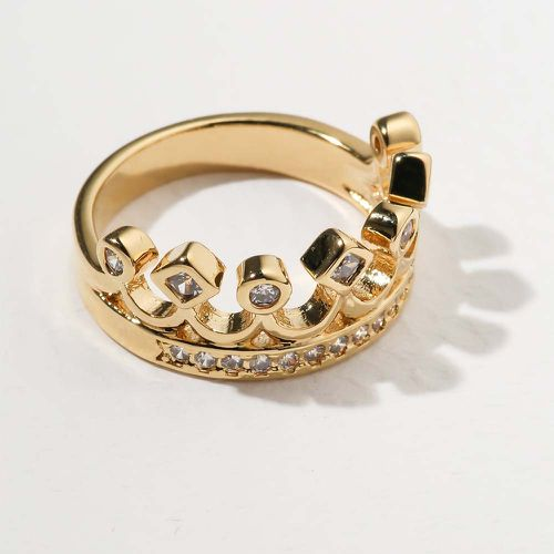 The Unisex Crown Ring ($55)