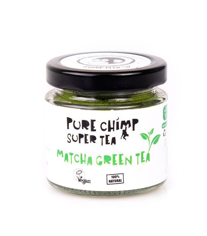 how to speed up metabolism: pure chimp matcha green tea