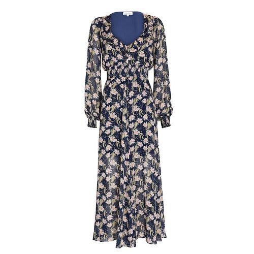 Intermix Miranda Floral Chiffon Maxi Dress