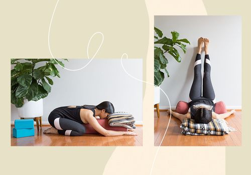 how to practice yoga for headaches
