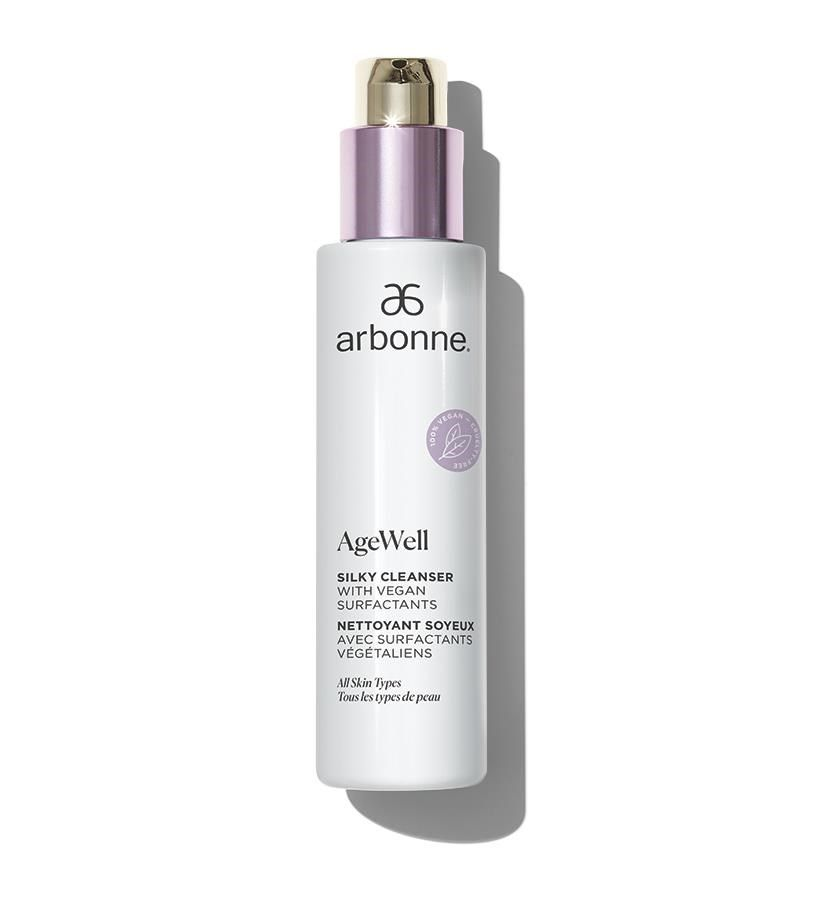 AgeWell Silky Cleanser with Vegan Surfactants