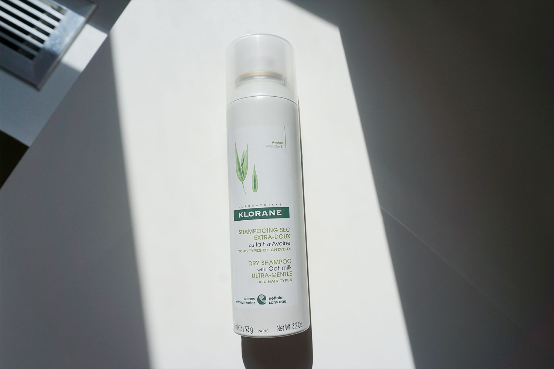 Klorane's Dry Shampoo With Oat Milk