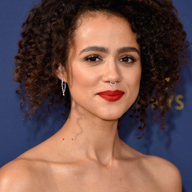Nathalie Emmanuel natural curly hair