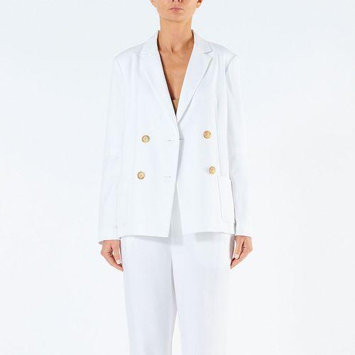Spring Blazer with Sleeve Slit ($160)