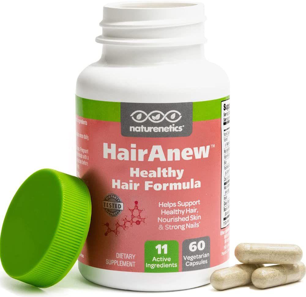 Naturenetics HairAnew Hair Skin and Nails Vitamins