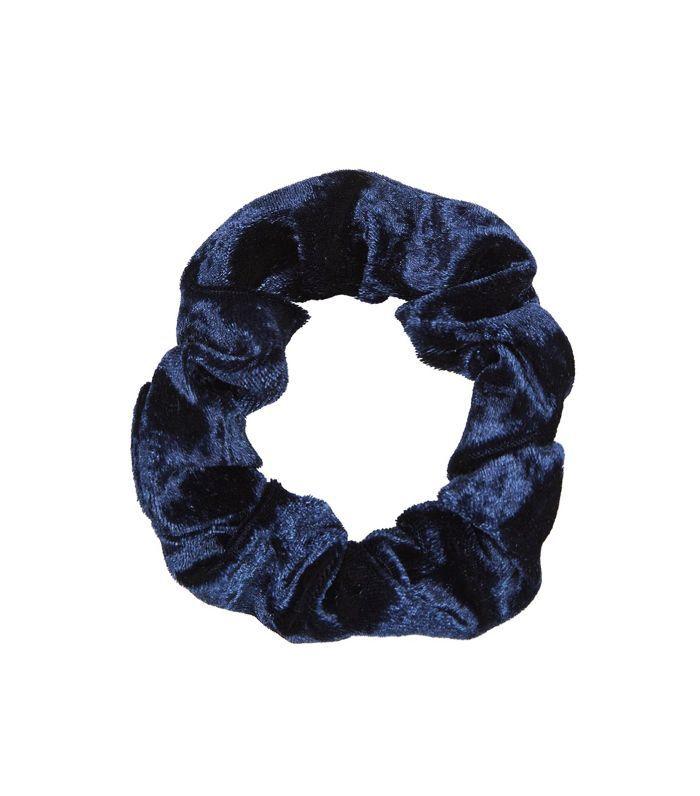 Half up hairstyles: Topshop Mini Velvet Scrunchie