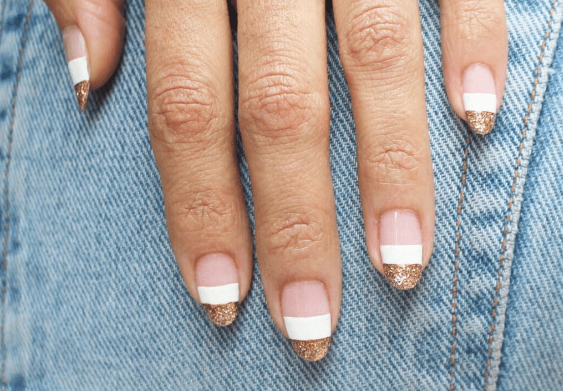 Nail Inspo 26 White And Gold Nail Designs To Try