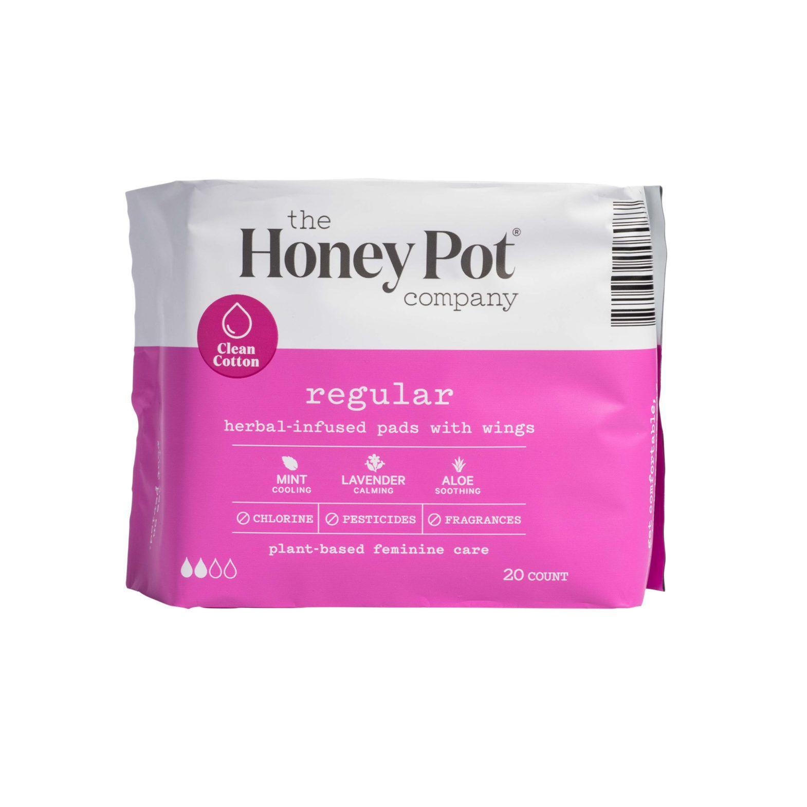The Honey Pot Co Regular Herbal Pads