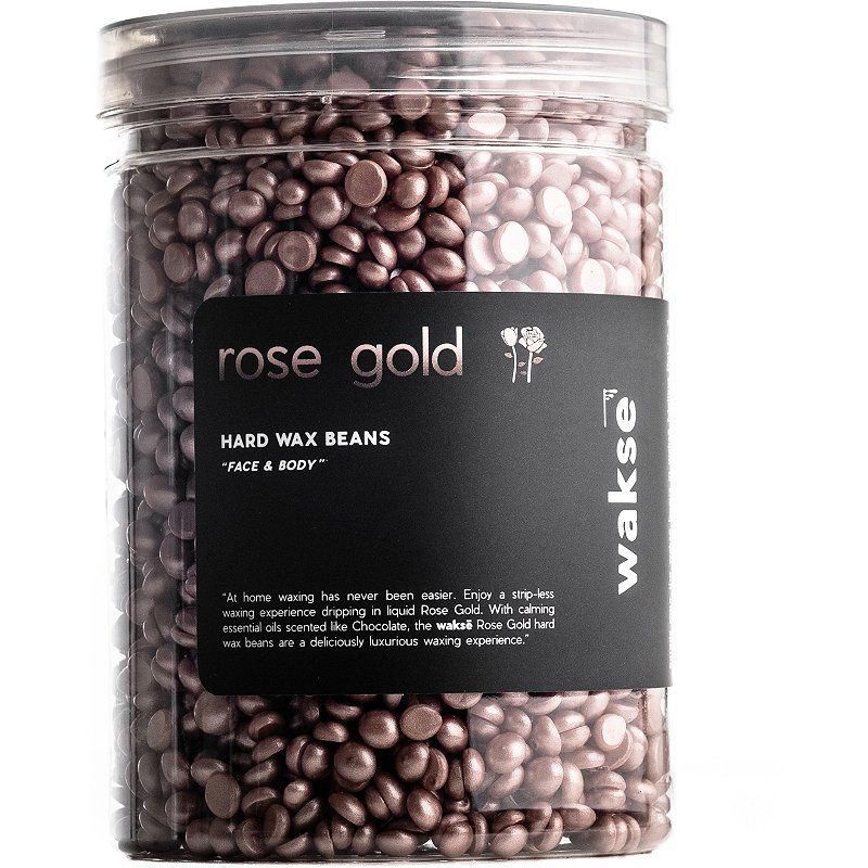 Wakse Rose Gold Hard Wax Beans