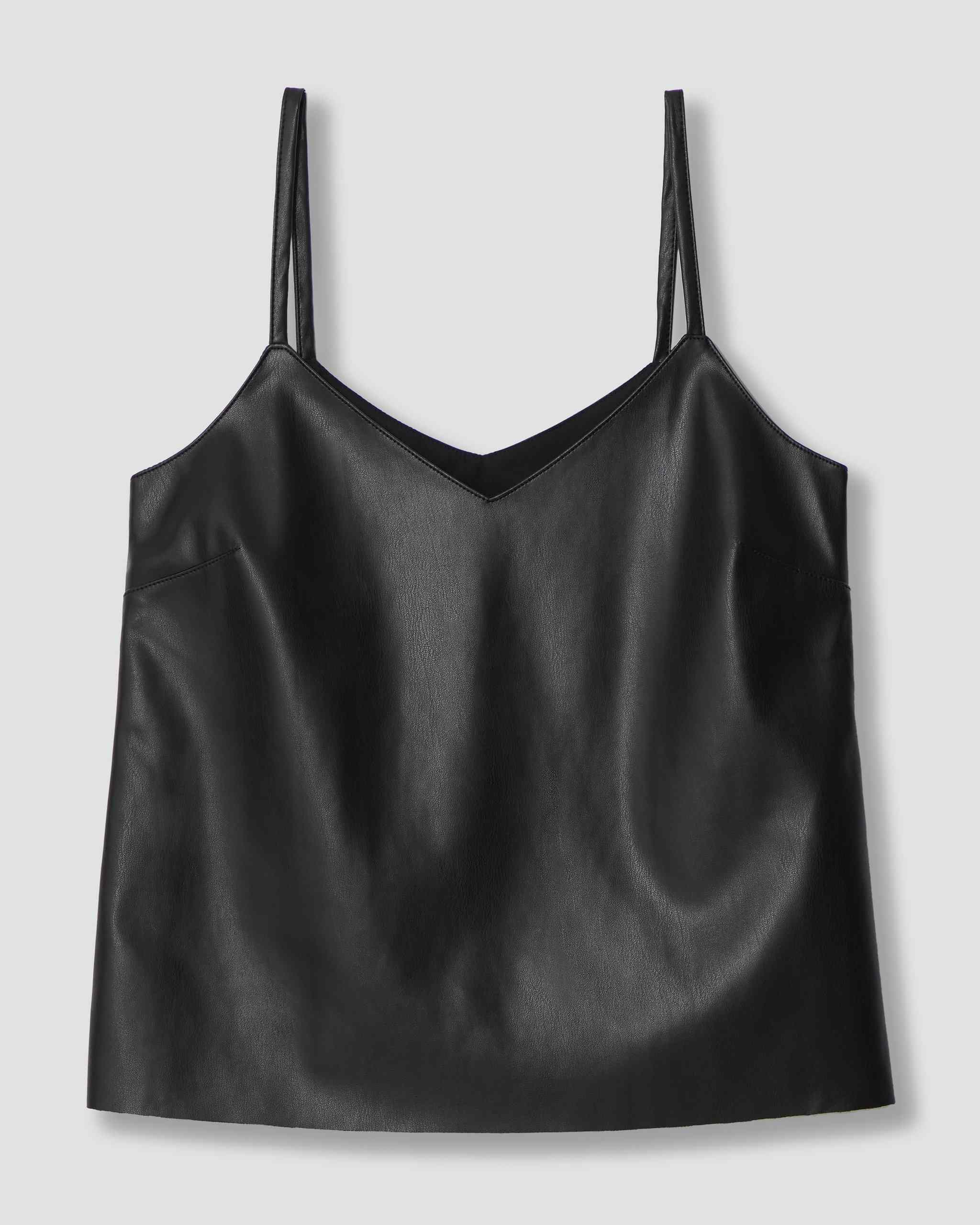 Universal Standard Fatima Vegan Leather Camisole