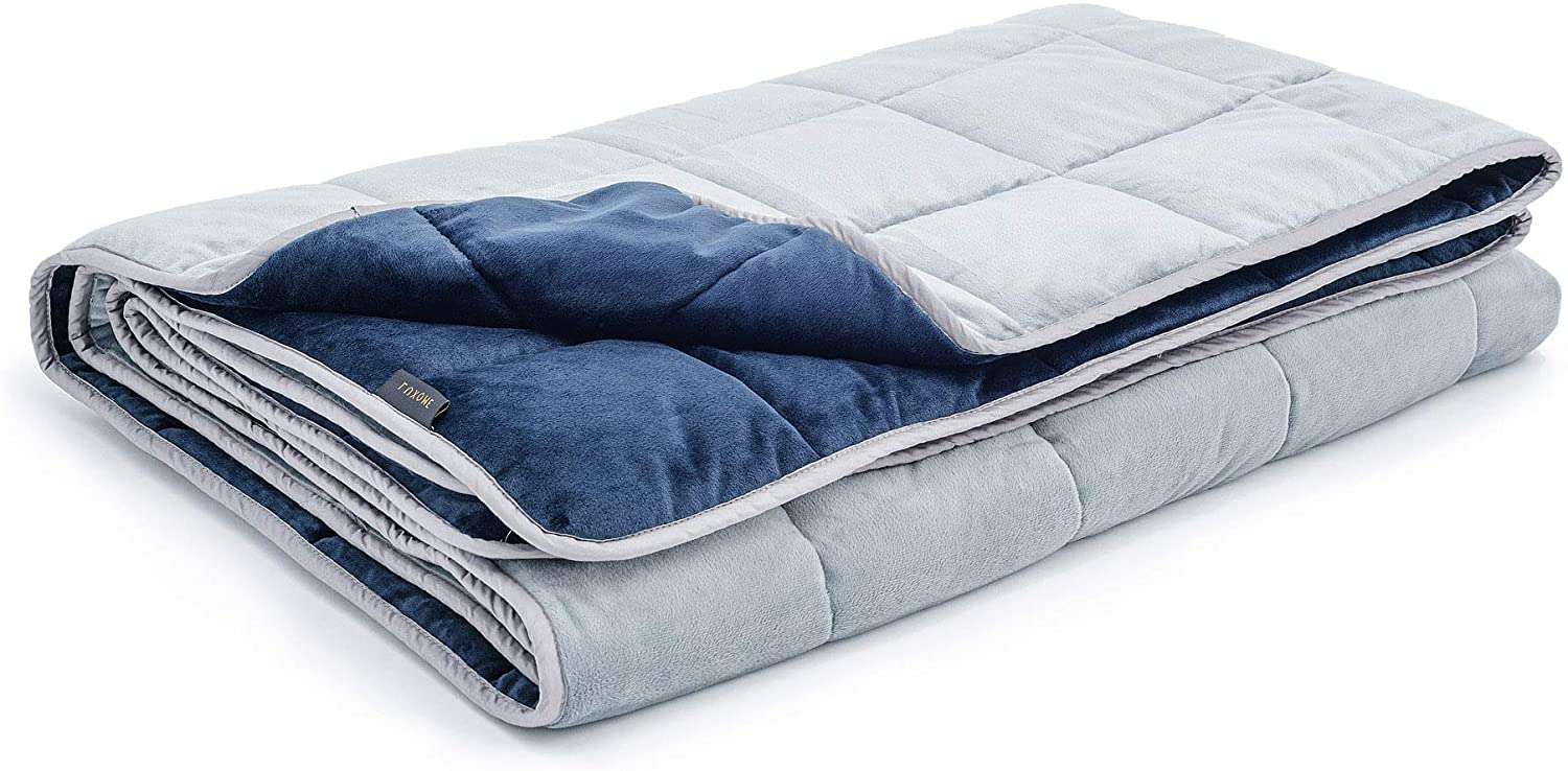 Luxome Ultra-Plush Minky Weighted Blanket