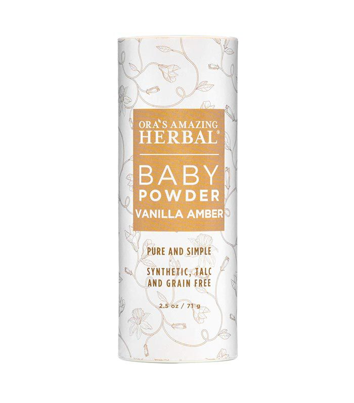 Ora's Amazing Herbal Baby Powder Vanilla Amber
