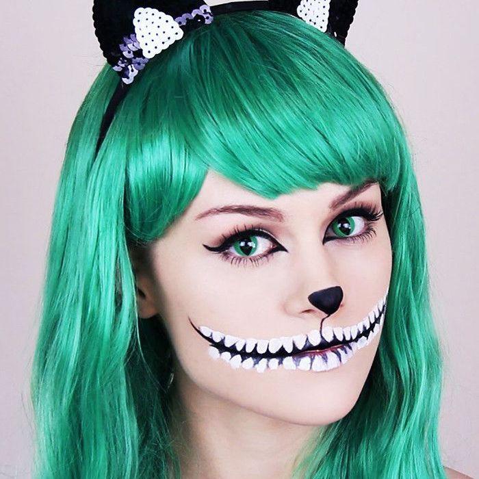 Cheshire Cat Smile Makeup Tutorial